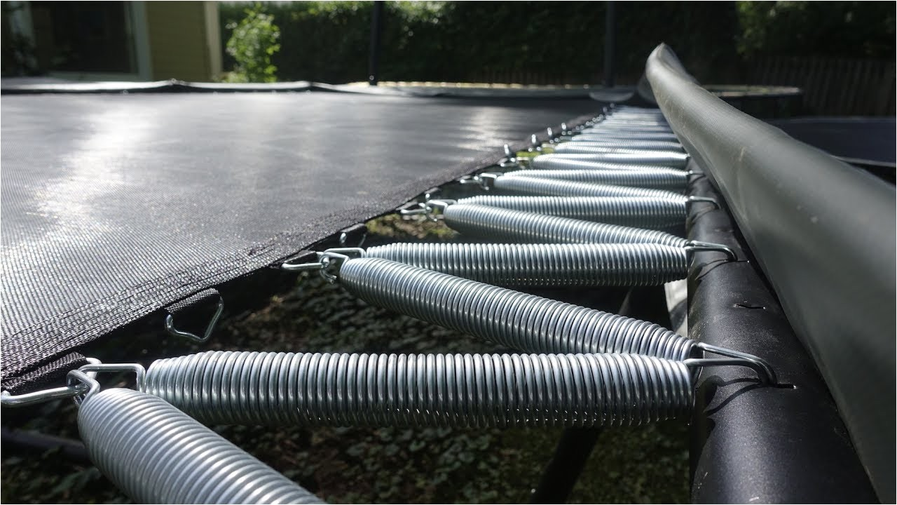 How to Make A Trampoline Bouncier the Easiest Way to Make Your Trampoline Bouncier Youtube