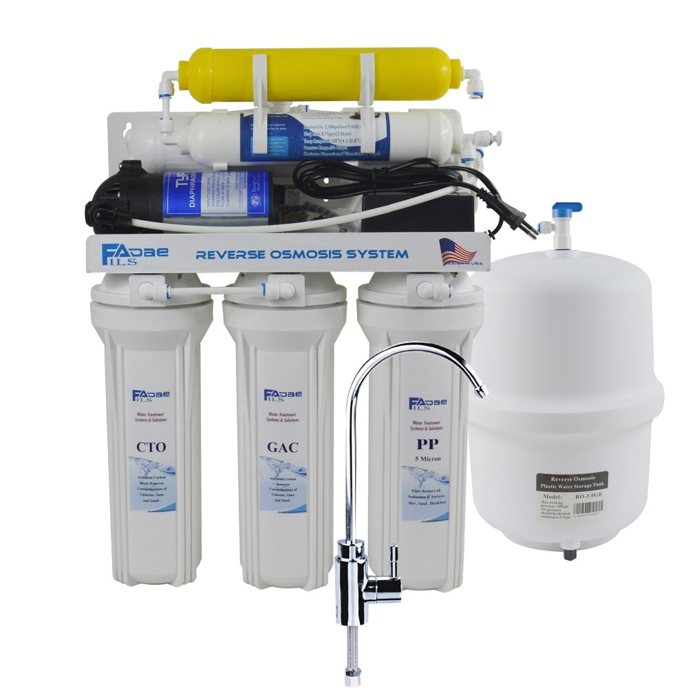 How to Remineralize Water after Reverse Osmosis 6 Stage Residential Under Sink Reverse Osmosis Drinking Water