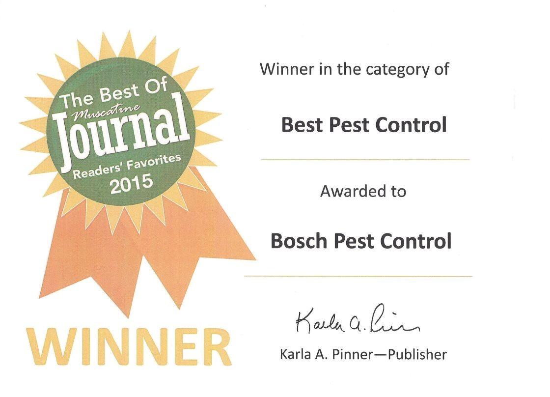 Ia Il Termite Pest Control Davenport Bosch Pest Control