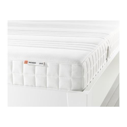 ikea matrand memory foam and latex mattress review
