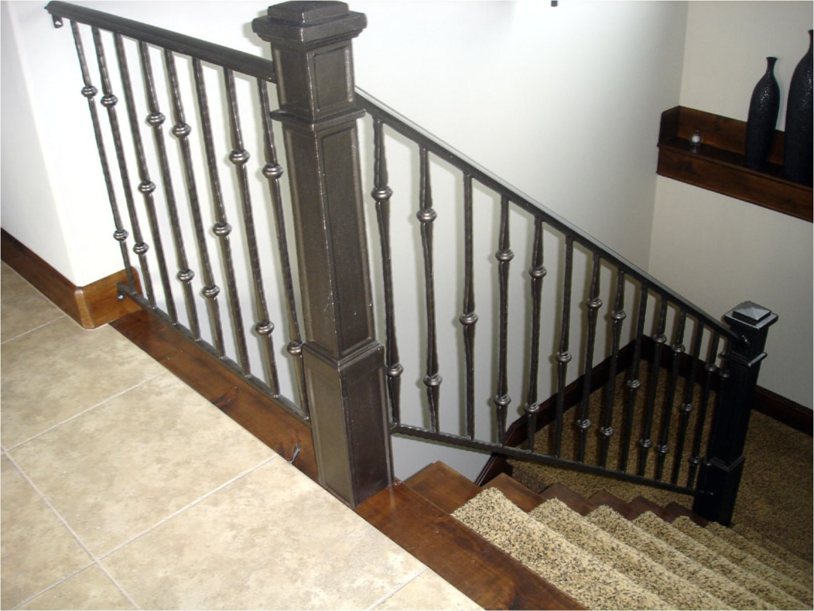 eh indoor stair railing kits home depot