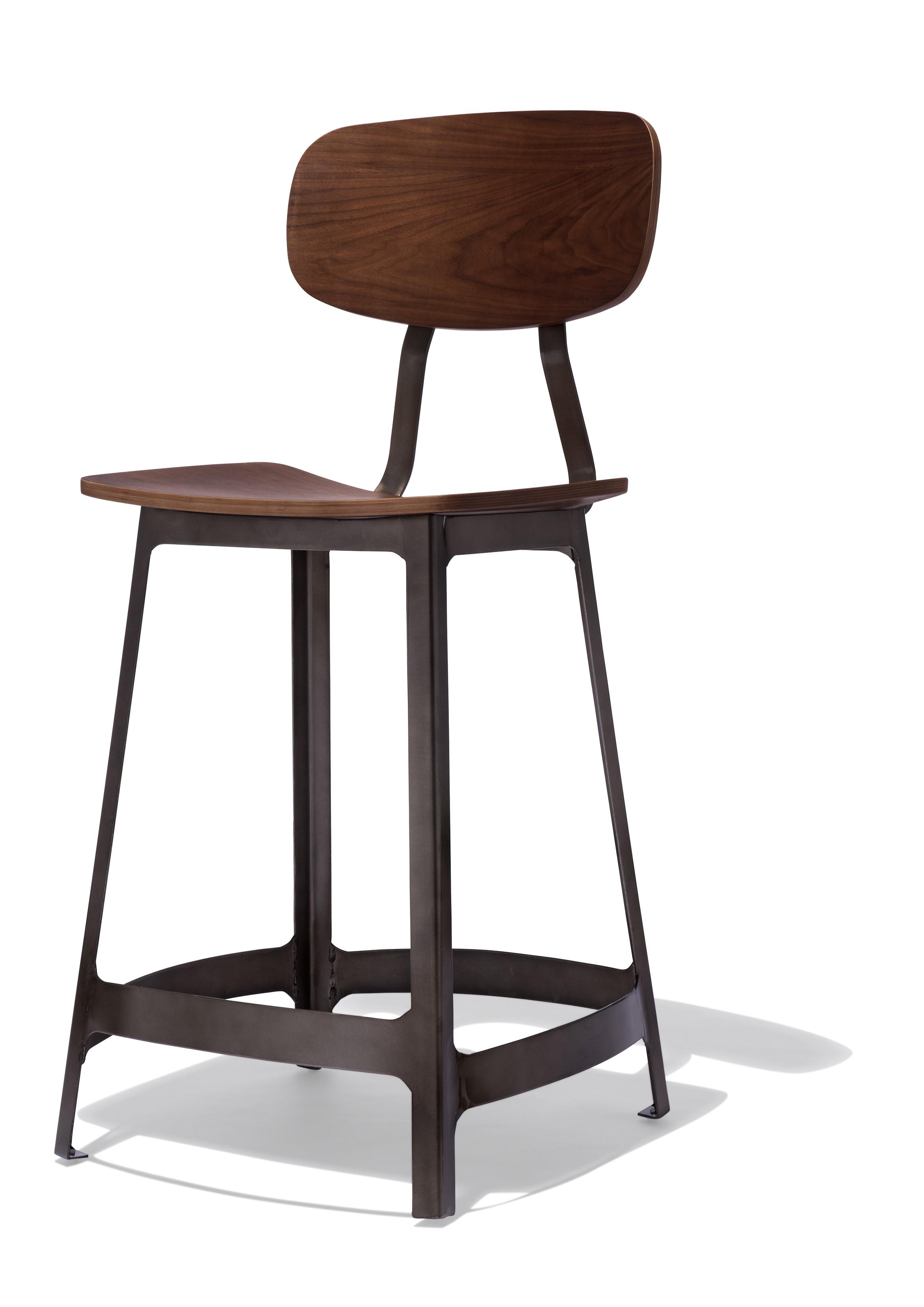 habitus counter stool gunmetal