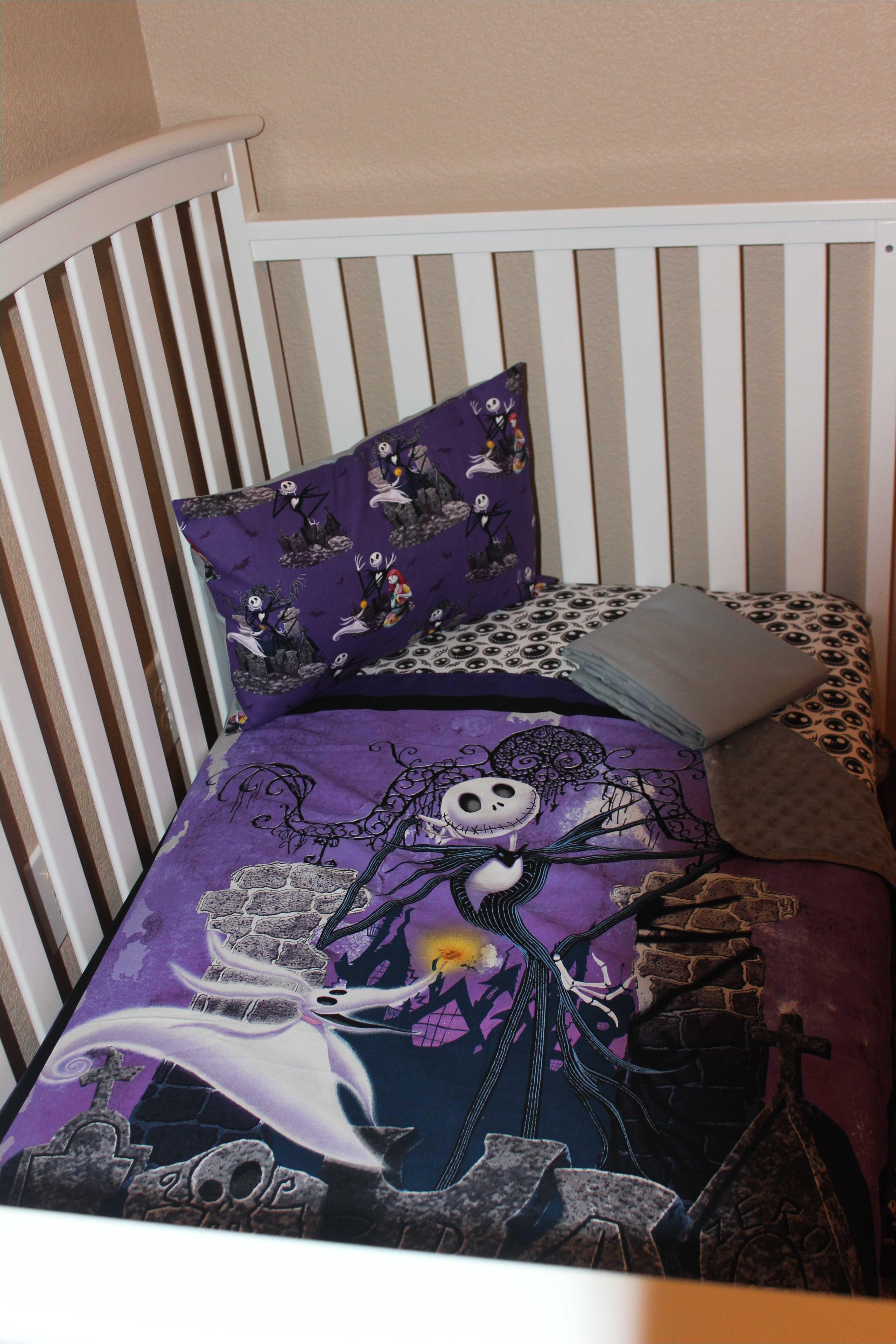 13139391 jack skellington crib toddler bedding set