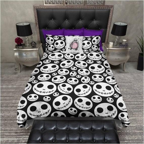 Jack Skellington Bed Set Lightweight Jack Skellington Bedding Nightmare by Inkandrags