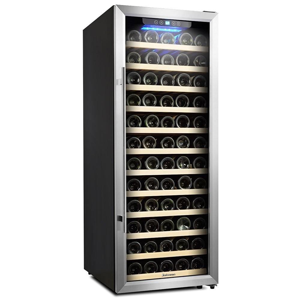 Kalamera 80 Bottle Wine Cooler Reviews Kalamera 80 Bottle Freestanding Compressor Wine Cooler