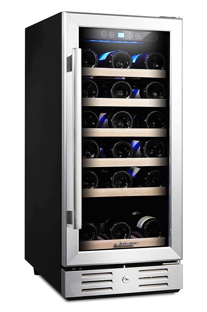 Kalamera Wine Cooler Reviews Kalamera 30 Bottle Wine Refrigerator Review Home Wine