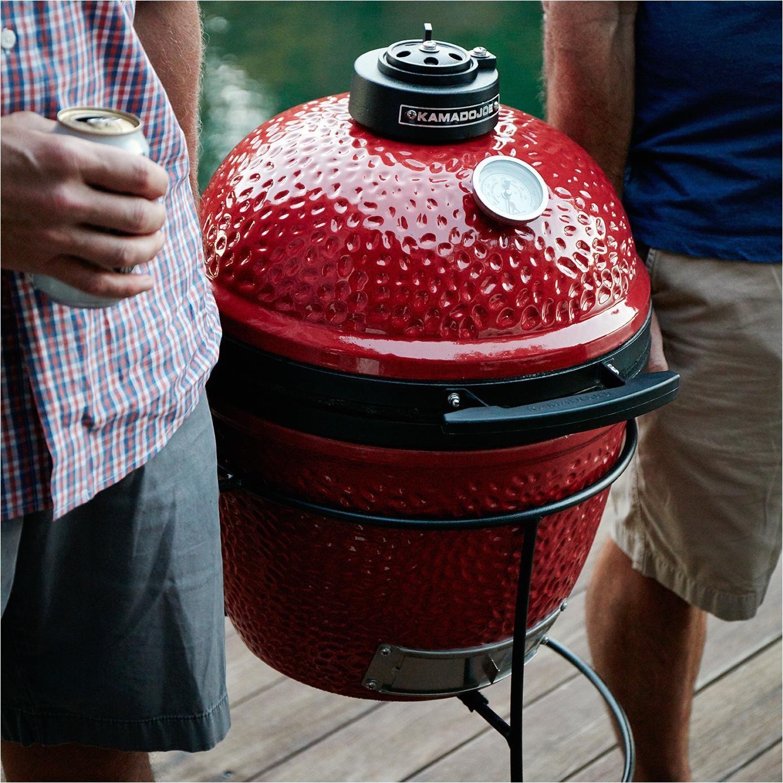joe jr ceramic grill on stand