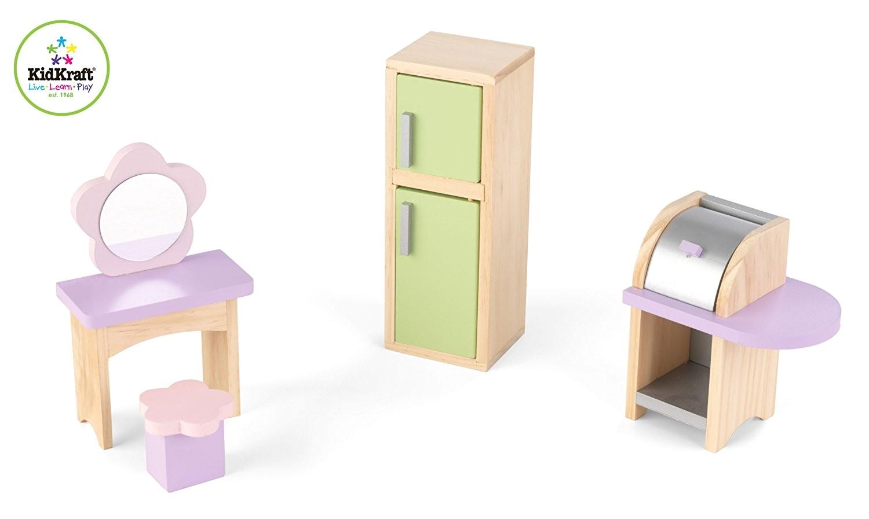 stylish inspiration ideas kidkraft dollhouse furniture set amazon com kidkraft doll house 28 pieces toys