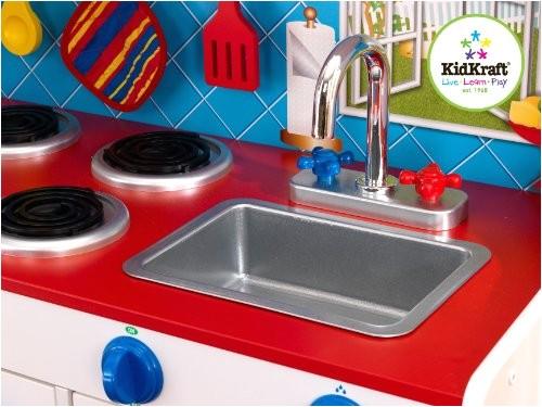 kidkraft deluxe lets cook kitchen