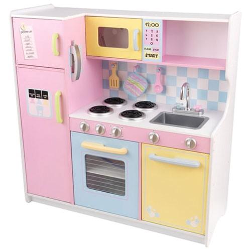 Kidkraft Large Pastel Kitchen Replacement Parts Kidkraft Large Pastel Kitchen Play Kitchens Best Buy