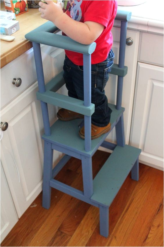 Kitchen Helper Stool Diy Kitchen Helper Stool toddler Stool Diy Ikea Hack Ikea