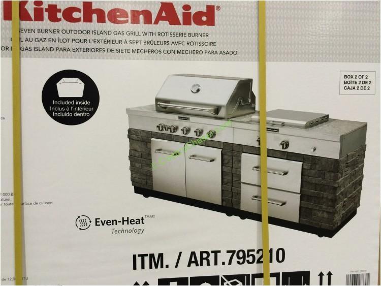 costco 795210 kitchenaid 7 burner island grill part