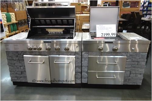 kitchenaid 7 burner island grill