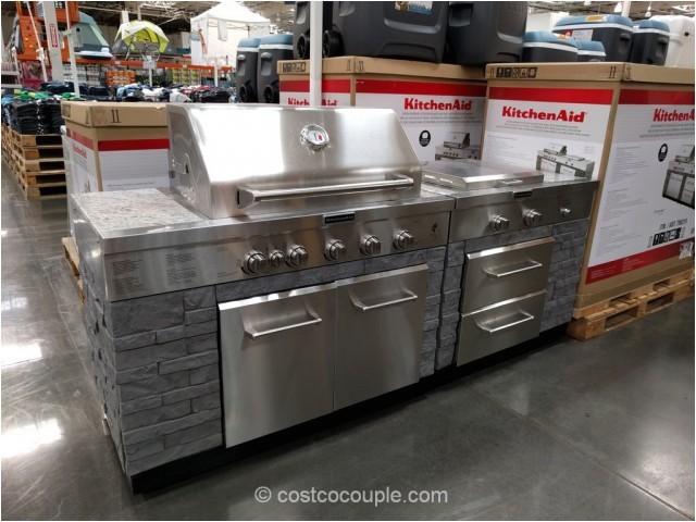 kitchen aid 7 burner outdoor island gas grill