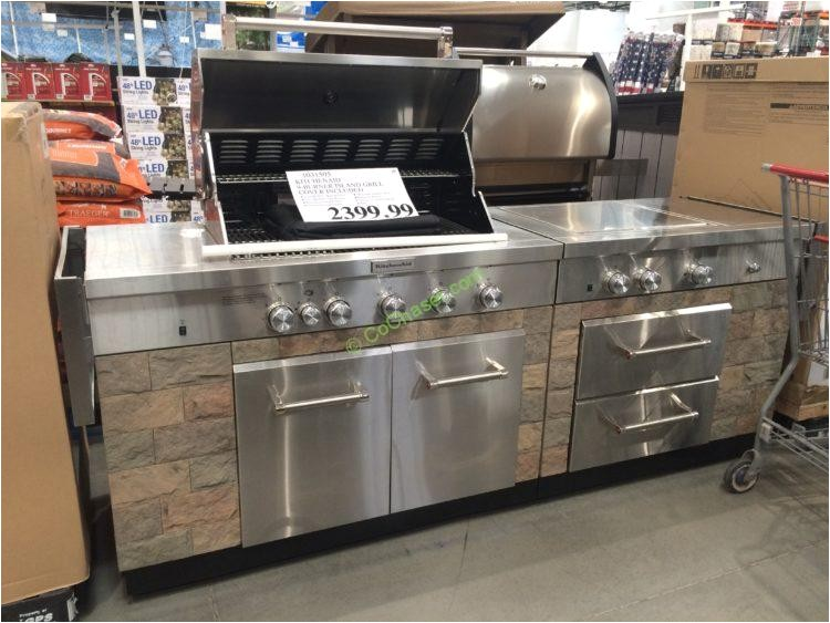 kitchenaid 9 burner island grill cover included model 960 0003b