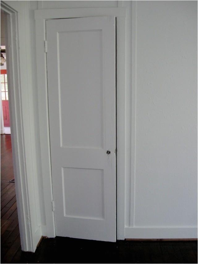 21254 bifold closet door knobs placement