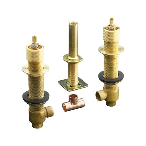 k 300 k kohler 1 2 in ceramic high flow roman tub rough in valve 11276