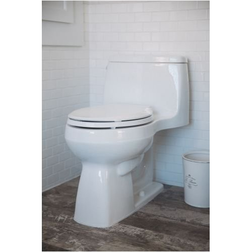 kohler k 1 28 gpf santa rosa comfort height one piece compact elongated toilet