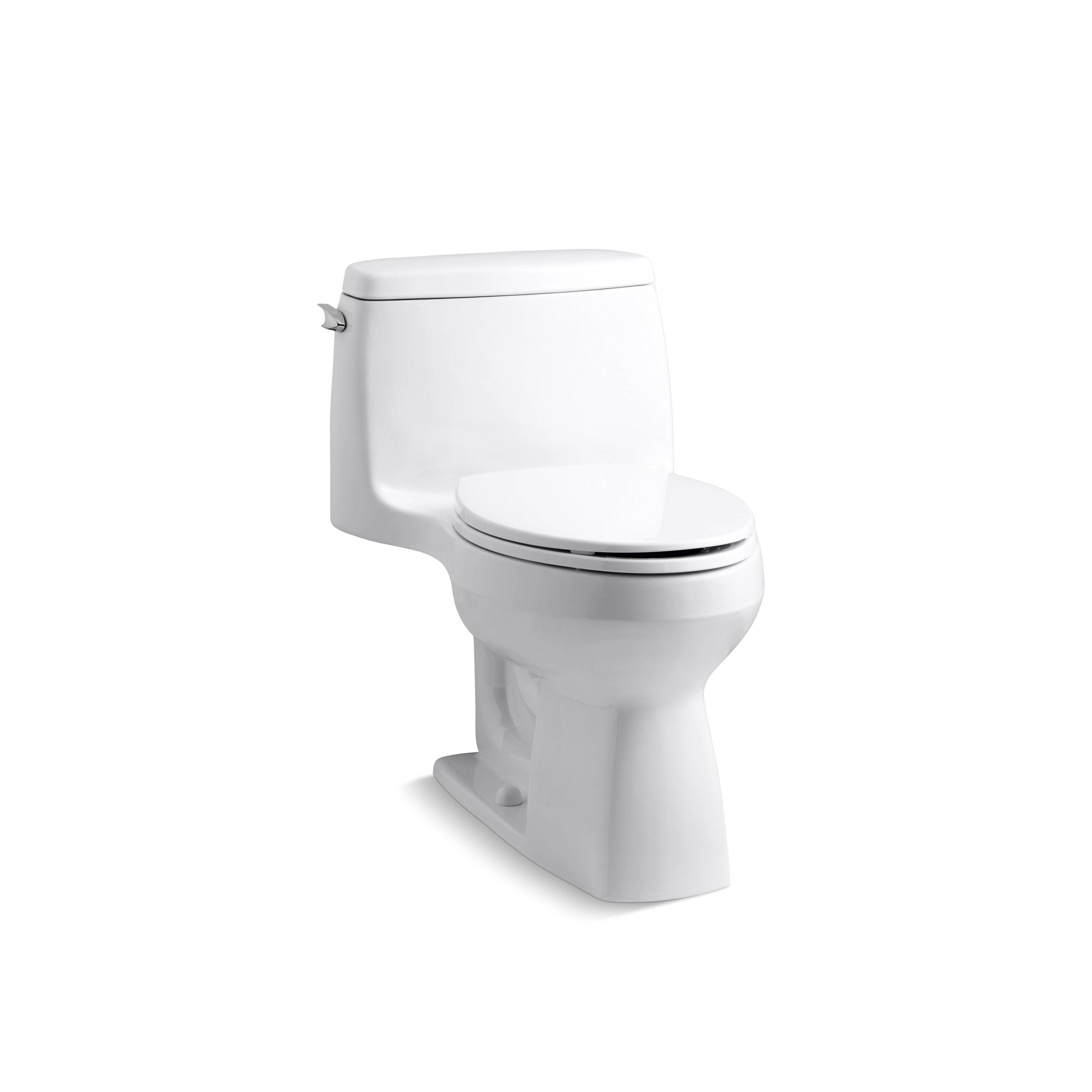 kohler santa rosa comfort height compact 1 28 gpf elongated 1 piece toilet k 3810 koh17922