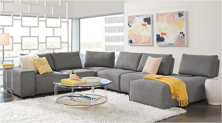 gray living room sets