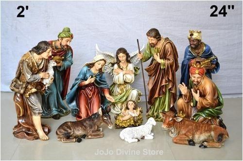 24 christmas nativity set 11pcs imported model 2 10748190948