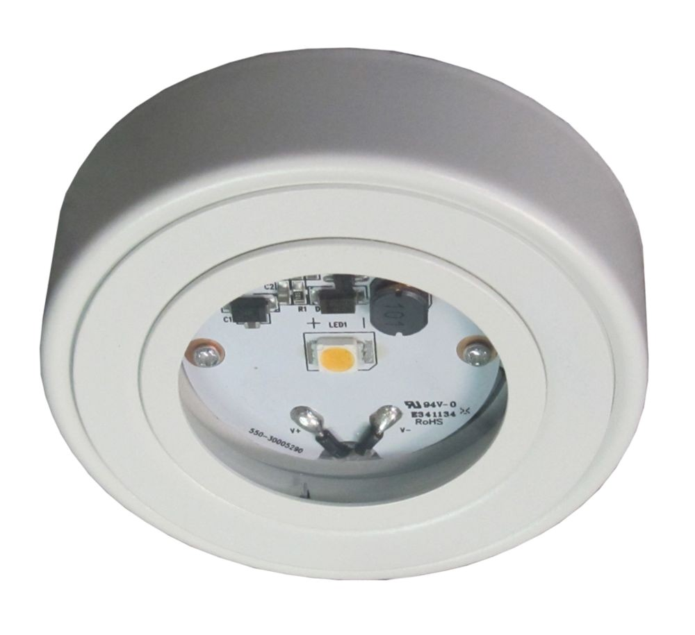 p enviro led metal puck white 1000712661