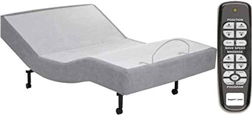 one piece king 14 air mattress vs sleep number i8 with leggett and platt simplicity electric adjustable bed base