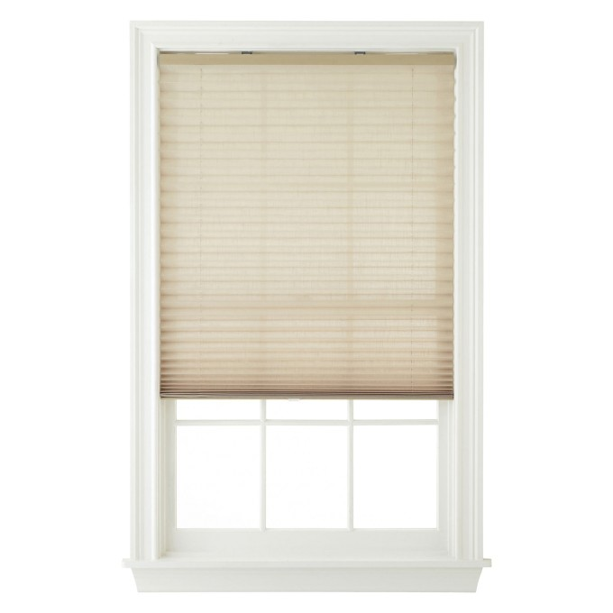 cordless pleated shades room darkening