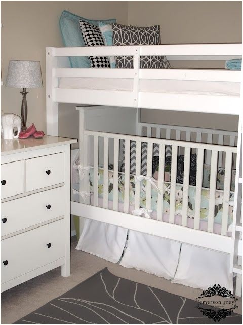 bunk bed crib