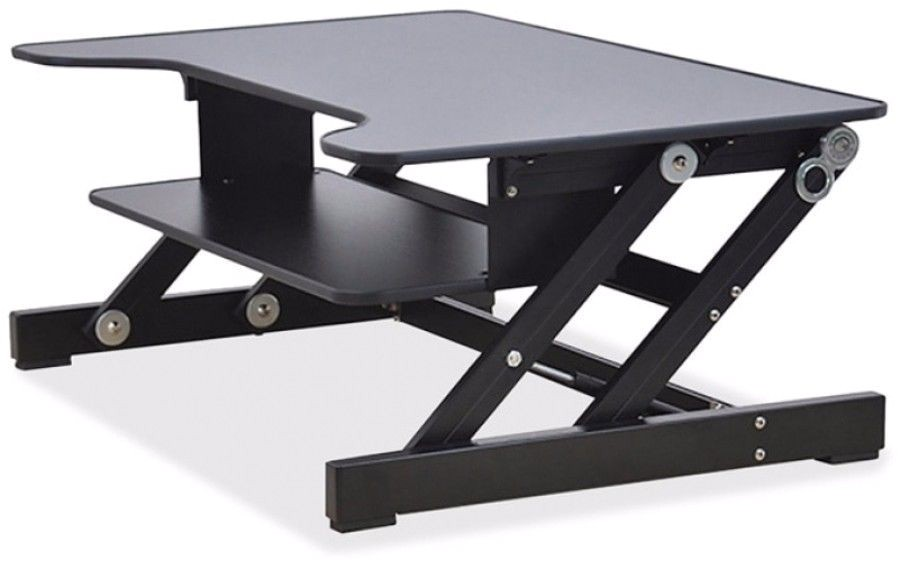 sit to stand monitor riser