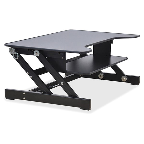 Lorell Sit to Stand Desk Riser Lorell Sit to Stand Monitor Riser Free Shipping today