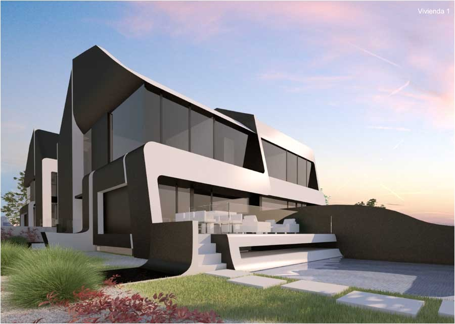 Los Angeles Residential Architects Colonia De Los Angeles Madrid A Cero Architects E Architect