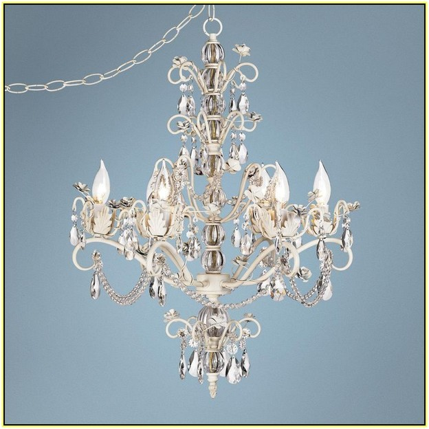 astounding chandelier plug in