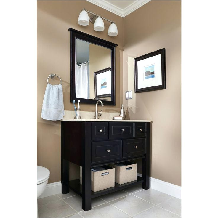 lowes vanities in stock bathroom vanity wall makeover say with stock cabinets furniture feet stained butcher block counters and vessel sink hmm