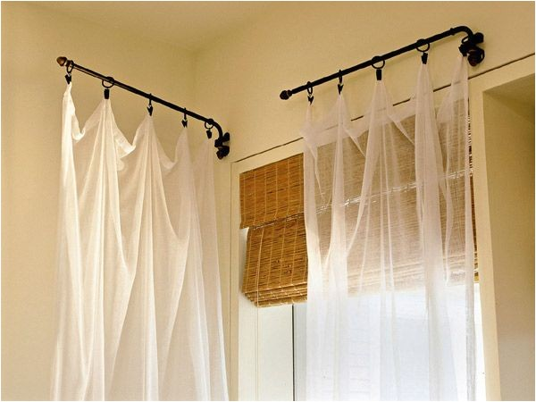 what sizes do curtain rods come in