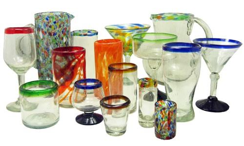 mexican glassware c 1