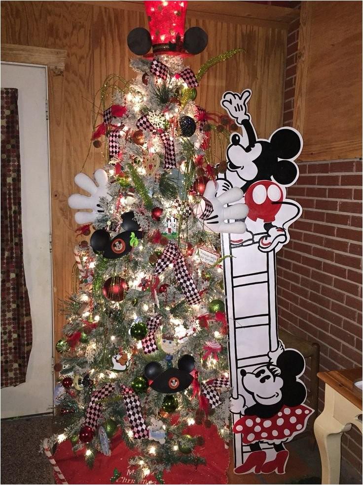 mickey mouse christmas tree 2017