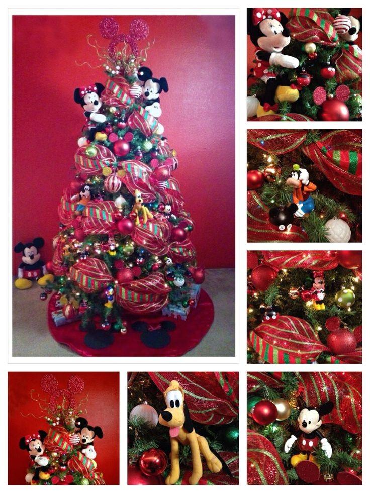 45 amazing disney christmas tree decorations ideas