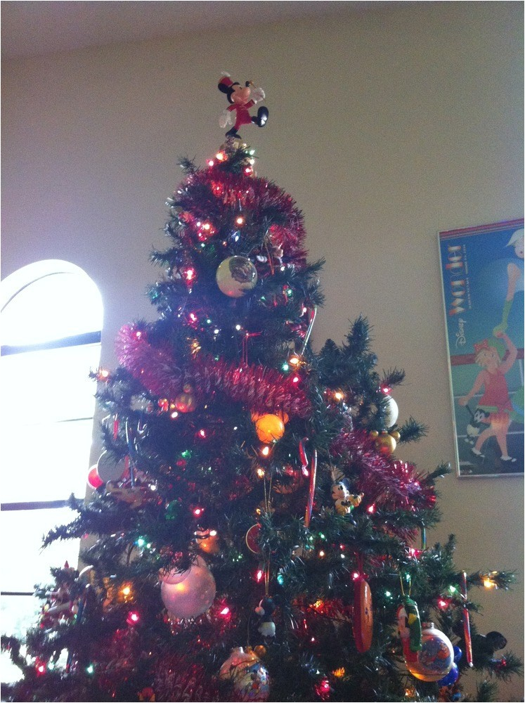 my mickey mouse christmas tree 4