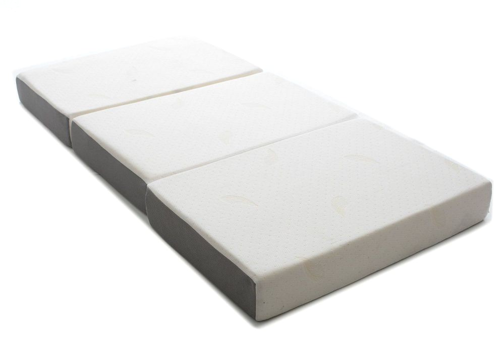 milliard 6 inch memory foam tri fold mattress