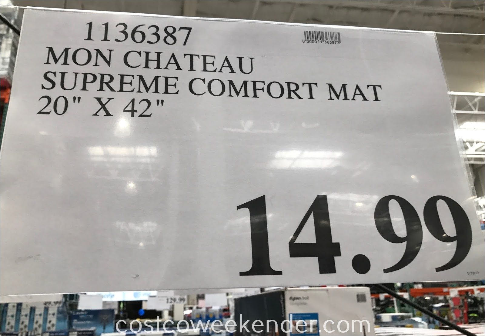 costco mon chateau anti fatigue supreme comfort mat 1136387