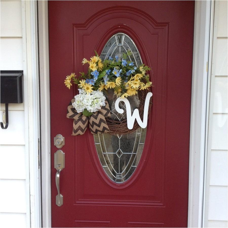 exquisite monogram for front door monogram letters for front door home decoration ideas pretty 06ef777c3a2ca285