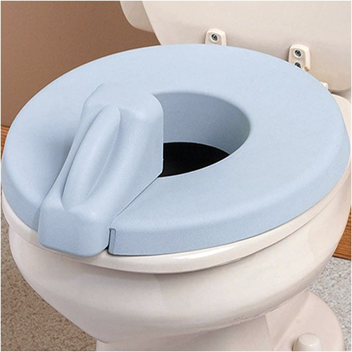 padded toilet seat reducer