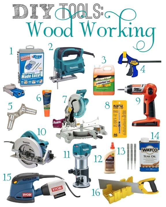 basic tools woodworking
