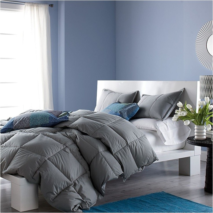 the most awesome in addition to stunning colored goose down comforters for home