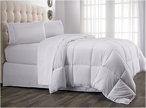15227319 queen comforter year round down alternative comforter duvet insert fluffy warm and soft by hanna kay queen