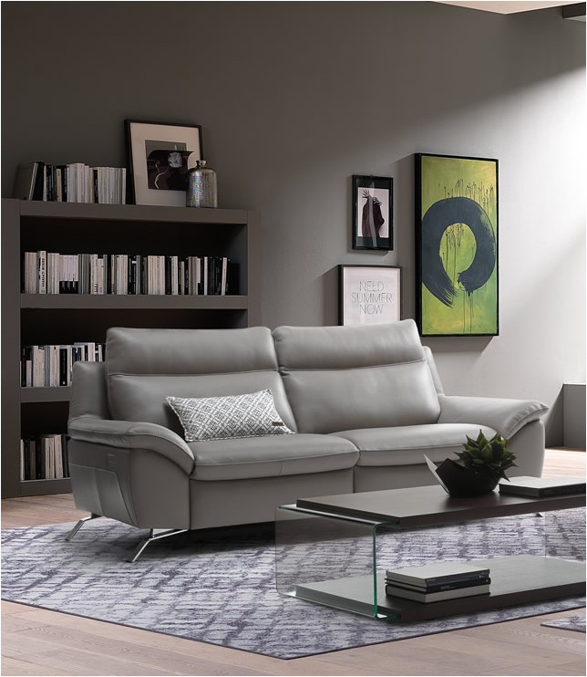 natuzzi editions orlando sofa with two recliners