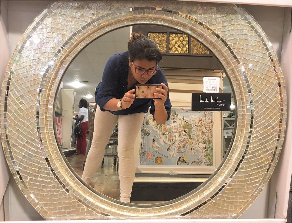 marvellous nicole miller mirror