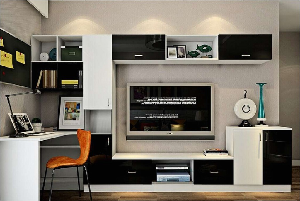 view photos of tv stands and computer desk combo showing 4 of 15 with computer desk tv stand executive home office furniture