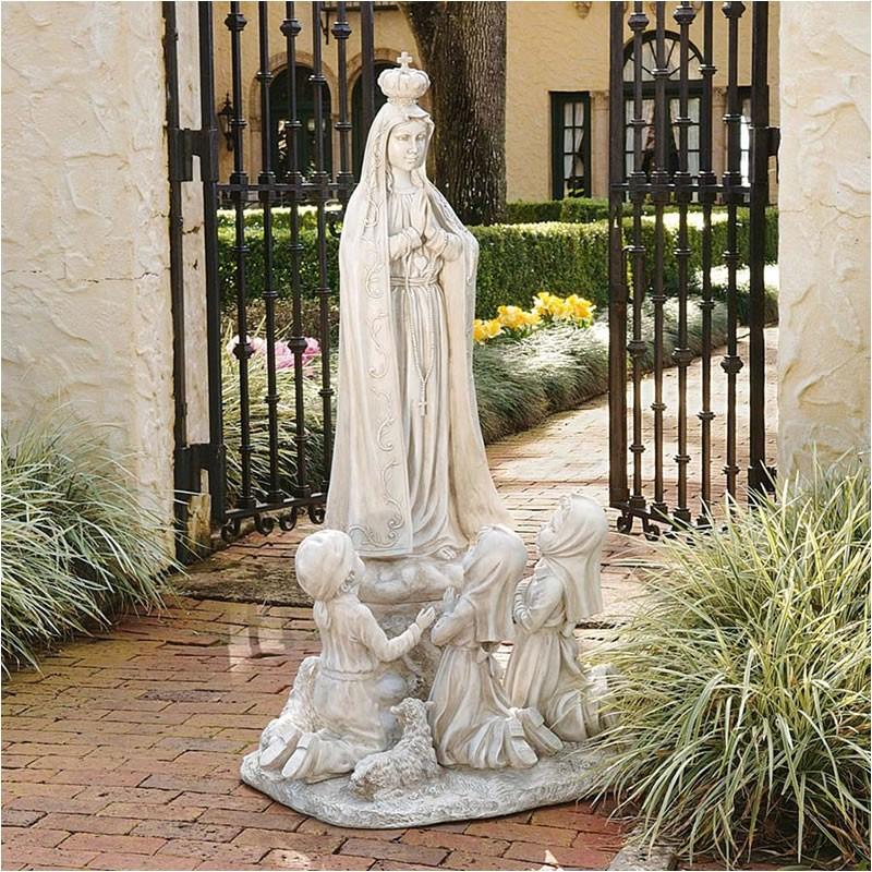 our lady of fatima garden statue sculpture